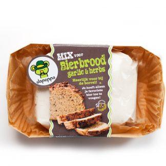 Bierbrood garlic & herbs-0